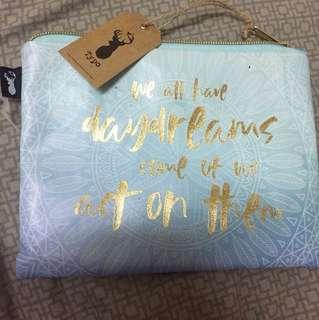 Makeup bag or pencil case
