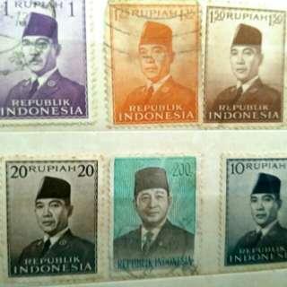 Filatelli Ir.Soekarno (perangko Ir.Soekarno)