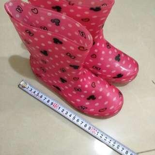 🚚 女童雨鞋 Mickey 桃紅色