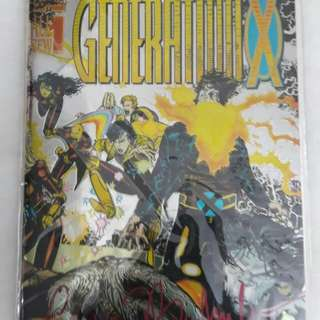 Generation X #1 - Signed with COA