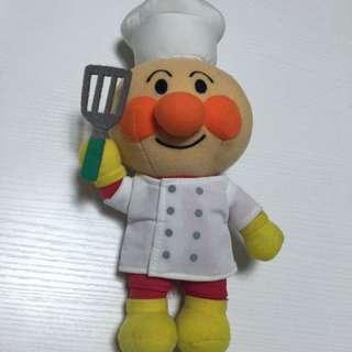 麵包超人廚師公仔