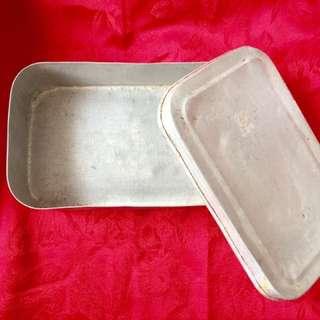早期 鋁製 便當盒#狗年發發