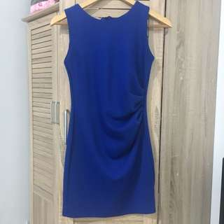 Bangkok blue dress