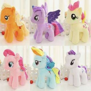 Rainbow Pony Doll Plush Toy