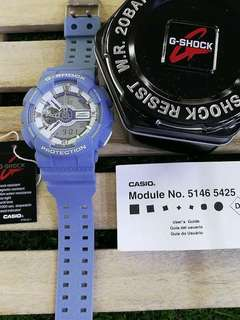 LIGHT DENIM GSHOCK WATCH