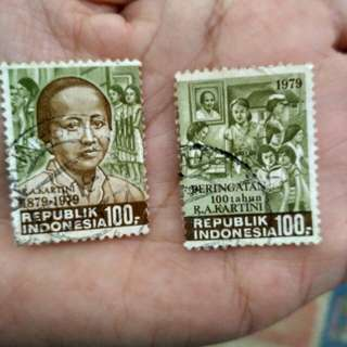 Filatelli R.A Kartini-100th R.A Kartini (perangko)