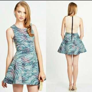 LAB textured dress