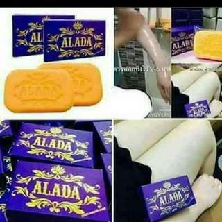 ALADA SOAP WITH FREE SNOW MILK LOTION FOR ONLY 350