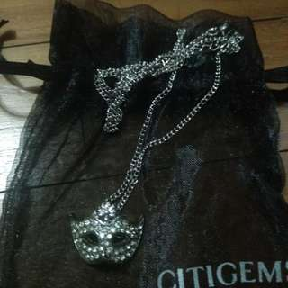 Citigem Mask Necklace