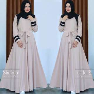 Casual maxi dresses for muslimah sejati