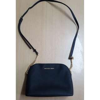 Michael Kors Cindy Large Dome Crossbody bag (Black)