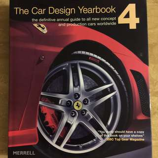 Car enthusiasts! THE Car Design Yearbook 4 for 2004 to 2005, Hardcover, 303 pages