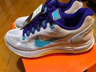 全新 Nike Lunarlon 跑鞋/運動鞋 (淺紫色日本版) US7/24cm/38