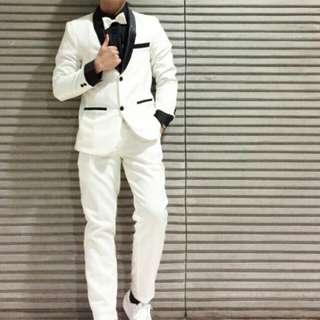 Rent Full set Creamy white Coat