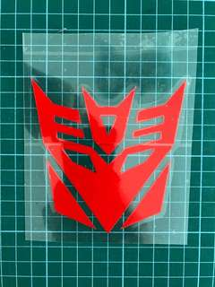 Waterproof Reflective Sticker / Decal (BN) [Transformer]