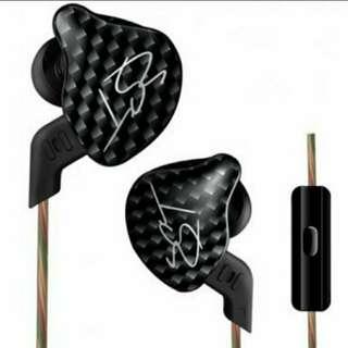 KZ ZST動圈耳機++4绞5N單晶銅鍍銀線升級鍍銀線