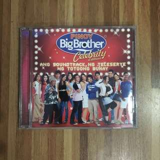 Pinoy Big Brother (PBB): Celebrity Edition 1 Audio CD