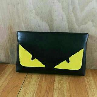 Fendi Monster Eye Clutch Bag