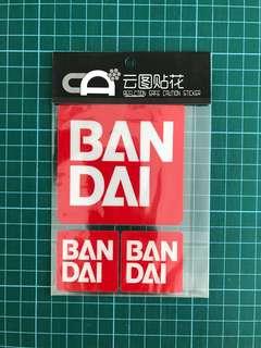 Waterproof Reflective Sticker / Decal (BNIP) [Ban Dai]