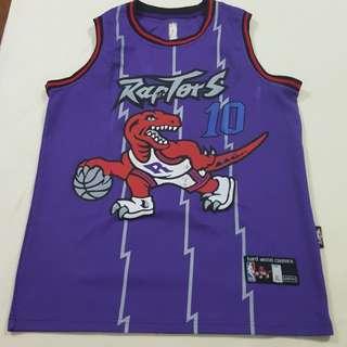 Replica Used DeMar DeRozan Basketball Jersey Men's XL