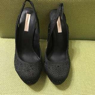 "BCBG MAXAZRIA 5"" Evening Shoes 閃閃石"