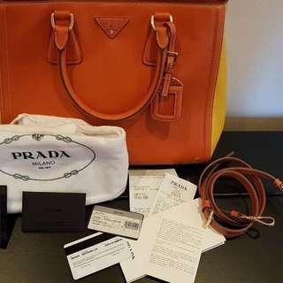 Authentic Brandnew Prada Saffiano Handbag/ slingbag