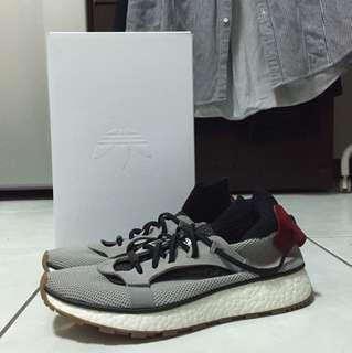 Adidas Boost x Alexander Wang Aw run 灰色