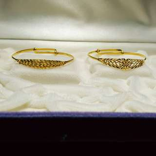 916 baby bangles@current gold price