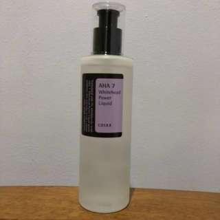 COSRX AHA White Power Liquid (BARELY USED)