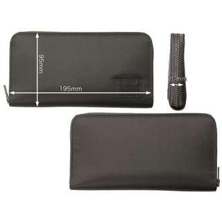 porter拉鏈電話長銀包zip phone iphone 8 plus long wallet錢包7 x 6灰色Gray