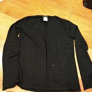 Yohji Yamamoto black sweater