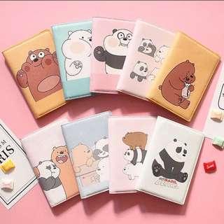 We Bare Bear passport cover
