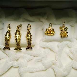 916 pendants@current gold price