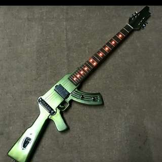 Inspired DK LED acrylic electric guitar (replica)