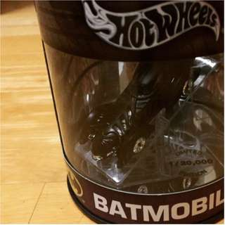 Batmobile - Hotwheels LIMITED EDITION