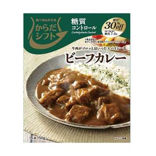 (全新訂購) 日本製造 宮島醬油 低碳 Carbohydrate control 牛肉咖哩 150g (5 包裝)