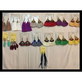 Handmade tassels Earrings