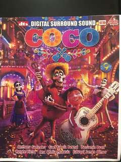 Dvd English movie, COCO