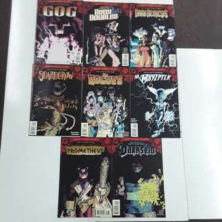 New Year's Evil Complete Comics Set