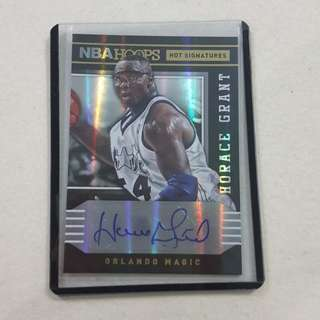 Legit Used 2014-15 Panini NBA Hoops Card Auto Horace Grant