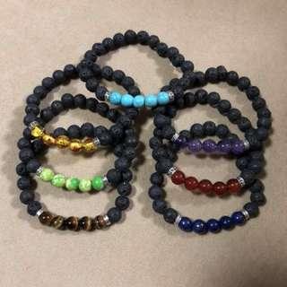Chakras stretch bracelet