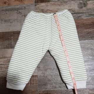Thick cotton sweatpants (size 1-2 yr old)
