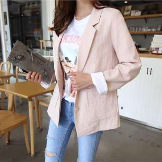 (S~2XL) 2018 Spring and Autumn Small Suit Jacket Casual Casual Suit Fashion Suit