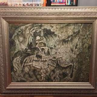 畫連框 (彫刻畫)(新年特賣)