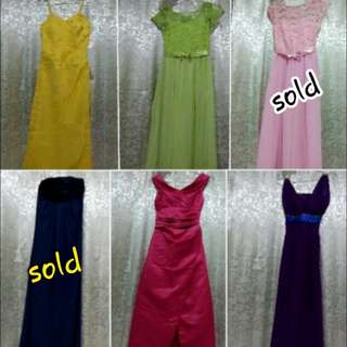 SALE!!! Long Desses/Formal Dresses