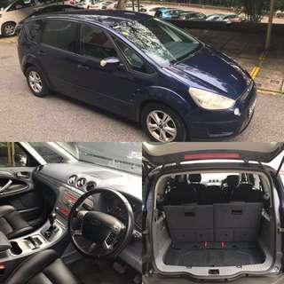 Honda Odyssey/Fit/Ford S-Max For Rent