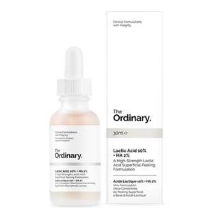 READY STOCK The Ordinary Lactic Acid 10% + HA 2% - 30ml