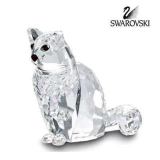 Swarovski Cat Sitting