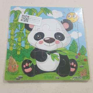 Replica Brand New Sealed Small Panda Puzzle Toy