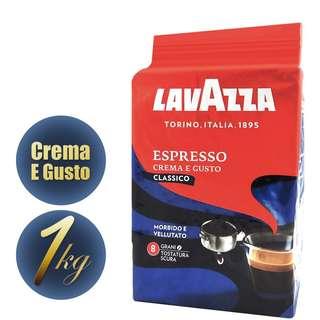 義大利 lavazza咖啡豆 醇香溫和